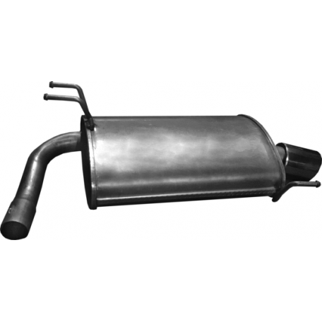 Глушитель Хонда Аккорд (Honda Accord) 2.4 03- (09.141) Polmostrow алюминизированный