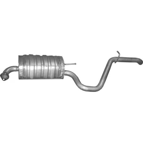 Глушитель задний (конечный, основной) для Хюндай И30 (Hyundai I30) 1.6 D (Diesel) Kombi (10.76) - 5/2007 Polmostrow