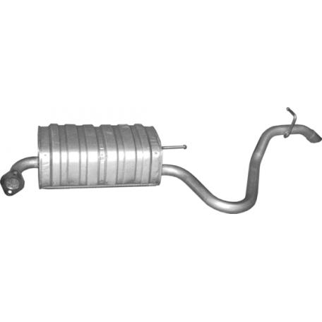 Глушитель Хюндай И30 (Hyundai I30) 1.4/1.6 07 (10.80) Polmostrow алюминизированный