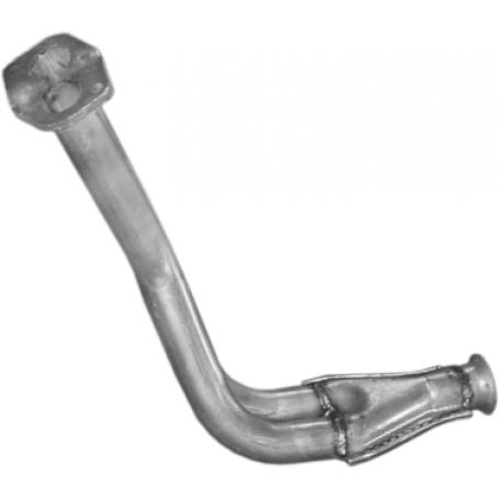 Труба приемная ВАЗ 2108, 2109, 21099 (11.21) Польша Polmostrow алюминизированный