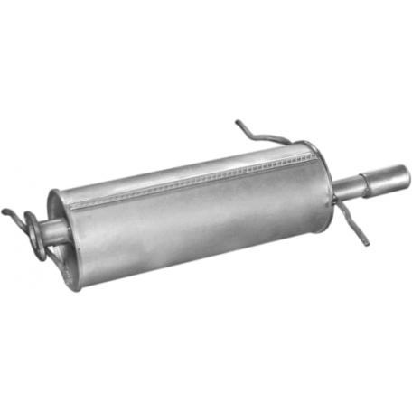 Глушитель Мазда 626 (Mazda 626) 83-87 2.0i/2.0D SDN/HB/Coupe (12.01) Polmostrow алюминизированный