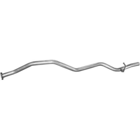 Труба конечная Мазда Е2000 (Mazda E2000); Мазда Е2200 (Mazda E2200) 01.88-97 (12.195) Polmostrow алюминизированный