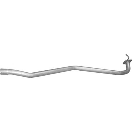 Труба средняя глушителя Мазда 6 (Mazda 6) 1.8i-16V 02-07, 2.0i-16V 02-05, 2.0 CiTD 02-07 (12.210) Polmostrow алюминизированный