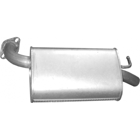 Глушитель Мазда 6 (Mazda 6) 2.0/2.3 05-07 (12.215) Polmostrow алюминизированный