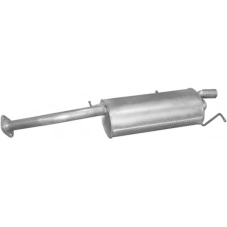 Глушитель Мазда Кседос 6 (Mazda Xedos 6) 2.0i -V6-24V 92-02 (12.22) Polmostrow алюминизированный