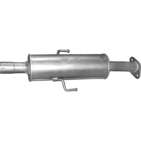 Резонатор Мазда 6 (Mazda 6) 1.8/2.0/2.5 07- (12.25) Polmostrow алюминизированный