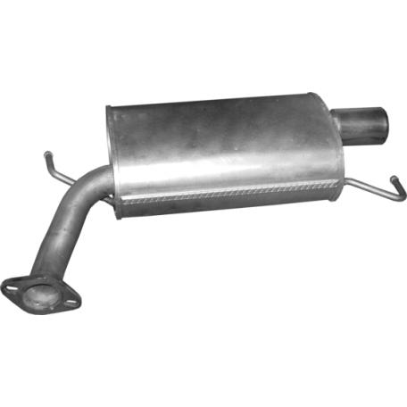 Глушитель Мазда 6 (Mazda 6) 1.8/2.0/2.5 07- (12.27) Polmostrow алюминизированный