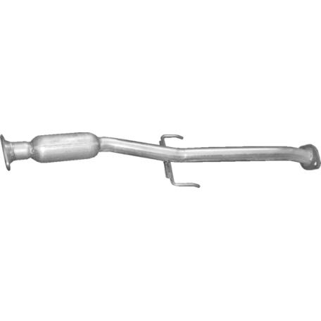 Резонатор Мазда 323 (Mazda 323) 1.3/1.5 94-03 (12.48) Polmostrow алюминизированный