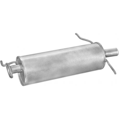 Глушитель Мазда 626 (Mazda 626) 82-87 1.6/2.0 b/kat (12.85) Polmostrow алюминизированный