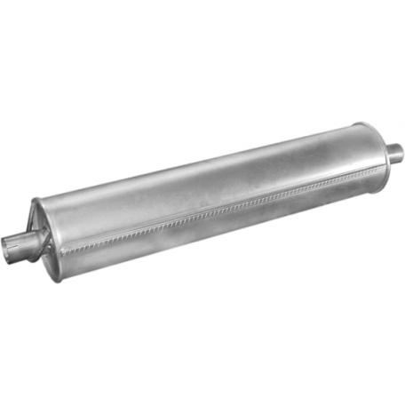 Глушитель Мерседес (Mercedes) L508D-L608D 78- (13.04) Polmostrow алюминизированный