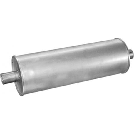 Глушитель Мерседес 207Д-410Д (Mercedes 207D-410D) 89-95 (13.123) Polmostrow алюминизированный