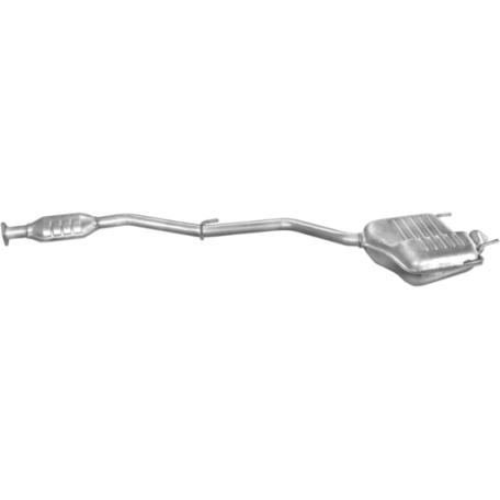 Система Мерседес В202 (Mercedes W202) 1.8 kat (13.164) Polmostrow алюминизированный