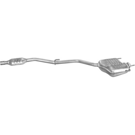 Система Мерседес С180 (Mercedes C180) 97-00 1.8 SDN/Kombi (13.165) Polmostrow алюминизированный