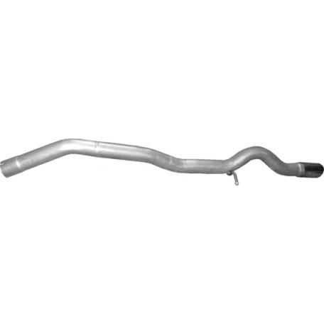 Труба конечная Мерседес А160, В169 (Mercedes A160 , W169) 2.0 D 04-12 (13.24) Polmostrow алюминизированный