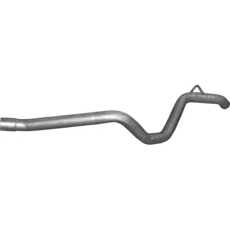 Труба конечная Мерседес ML320 - W163 (MERCEDES ML320 - W163) 3.2 98 - 02 (13.76) Polmostrow алюминизированный