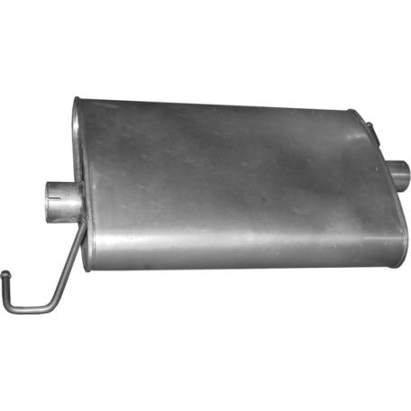 Глушитель Мерседес ML270 - W163 (Mercedes ML270 - W163) 2.7CDi 99 - 05 (13.89) Polmostrow алюминизированный