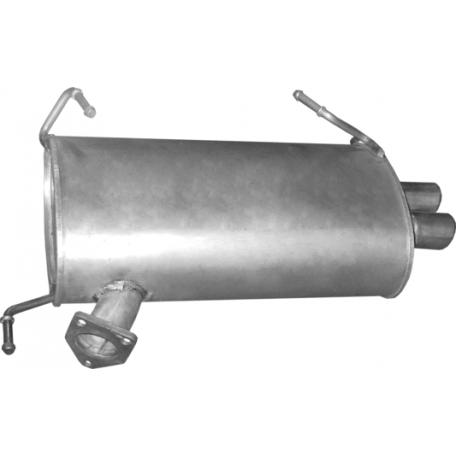 Глушитель Митсубиси Аутлендер (MITSUBISHI OUTLANDER) 2.4, 9/2007 - (14.38) Polmostrow алюминизированный