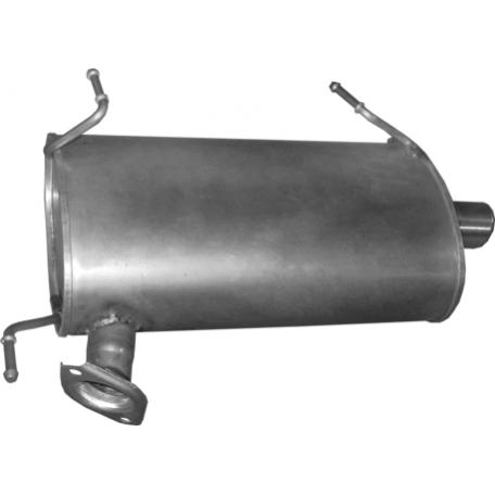 Глушитель Митсубиси Оутлендер (Mitsubishi Outlander) III 2.0/2.4 /06-11/12 (14.40) Polmostrow алюминизированный