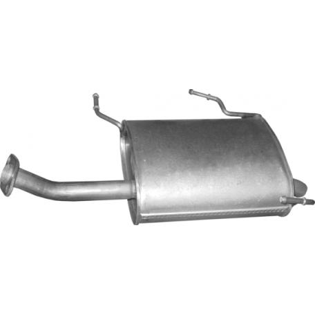 Глушитель задний (конечный) Ниссан Примера (Nissan Primiera) 1.6, 98-02 - (15.00) Polmostrow