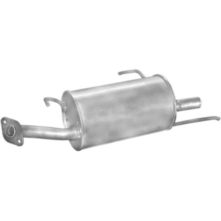 Глушитель Ниссан Альмера (Nissan Almera) sedan 1,4i 1,6i 95-00 (15.08) Polmostrow алюминизированный