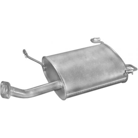 Глушитель Ниссан Примера (Nissan Primera) 1.6 16V 06/96-06/99 (15.235) Polmostrow алюминизированный