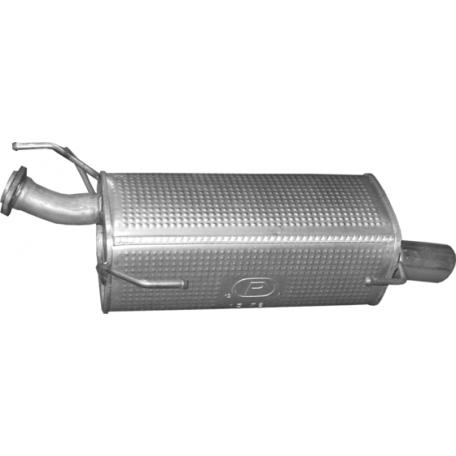 Глушитель задний Ниссан Джук (Nissan Juke) 1.5 DCi Turbo Diesel (15.76) - Polmostrow