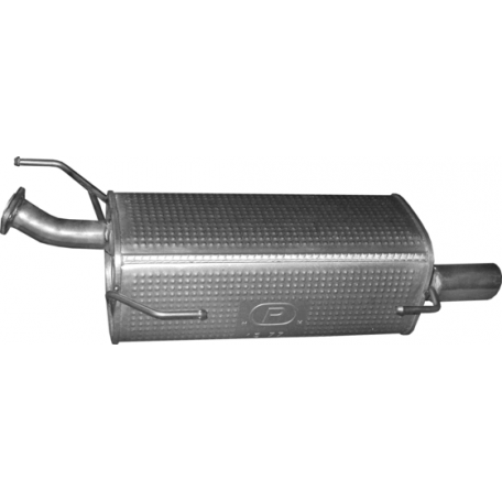 Глушитель Ниссан Жук (Nissan Juke) 1.2 2014 (15.77) Polmostrow алюминизированный