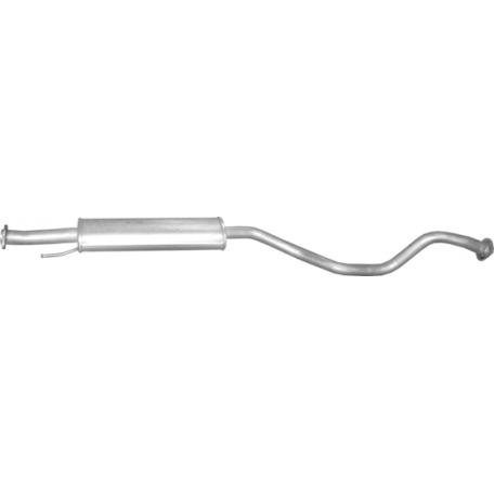 Резонатор Ниссан (Nissan) Juke 1.2 2014 (15.78) Polmostrow алюминизированный
