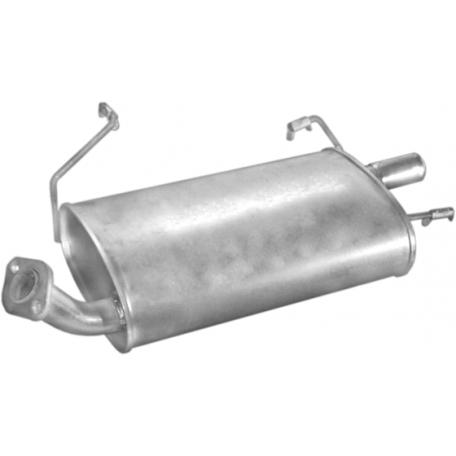 Глушитель Ниссан Примера (Nissan Primera) 90-93 2.0 kombi (15.99) Polmostrow алюминизированный