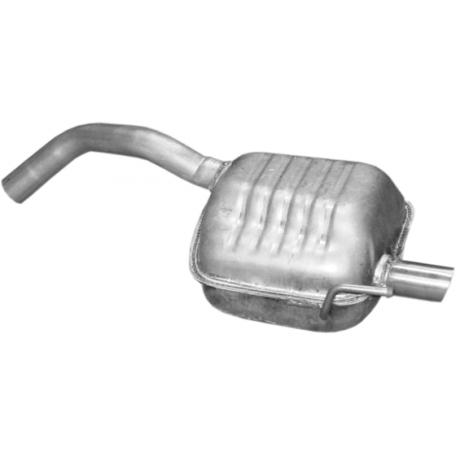 Глушитель Альфа Ромео (Alfa Romeo) 147 1.6 / 2.0 (16.86) Polmostrow алюминизированный