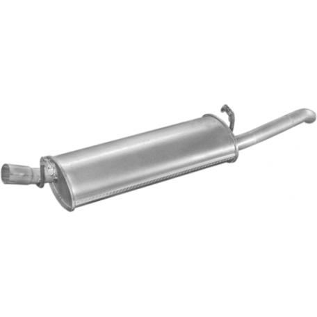 Глушитель Опель Аскона С (Opel Ascona C) 81-89 1.6/2.0i kat (17.03) Polmostrow алюминизированный
