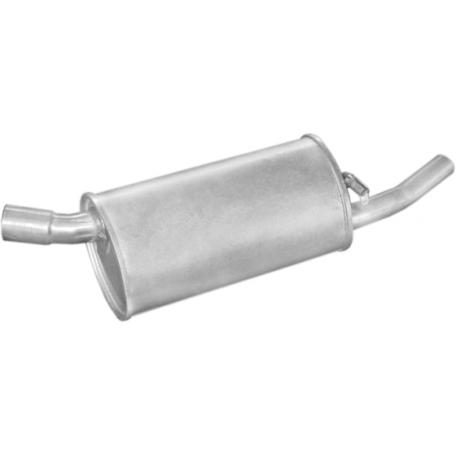 Глушитель Опель Корса А (Opel Corsa A) 1.2S/1.2i SDN kat 90-93 (17.11) Polmostrow алюминизированный