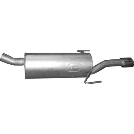 Глушитель задний (конечный) Опель Астра (Opel Astra) H 1.9 CDTi Turbo Diesel 05-09 (17.130) - Polmostrow