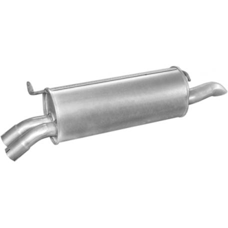 Глушитель Опель Омега А (Opel Omega A) 2.6i 86-94; 3.0i 90-94 (17.220) Polmostrow алюминизированный