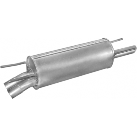 Глушитель Опель Омега Б (Opel Omega B) 2.5I SDN 94- (17.234) Polmostrow алюминизированный