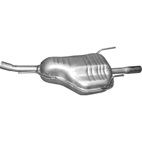 Глушитель Опель Астра (Opel Astra) G 1.6i kombi 03-04 (17.28) Polmostrow алюминизированный