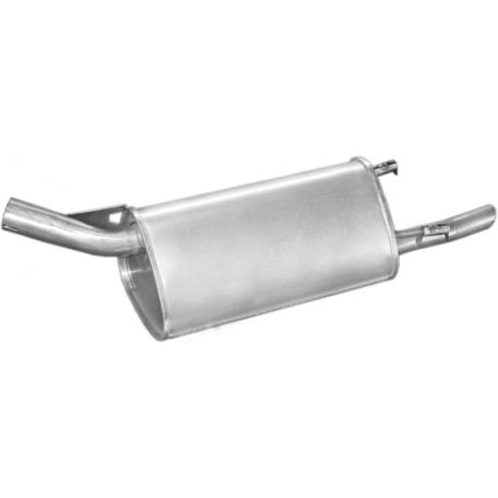 Глушитель Опель Корса Б (Opel Corsa B) 1.0i -12V kat 96- (17.290) Polmostrow алюминизированный