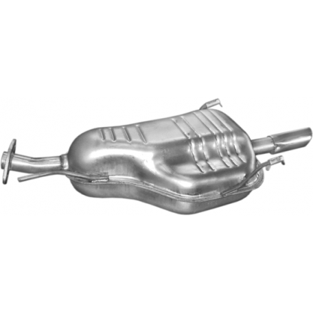 Глушитель Опель Астра Г (Opel Astra G) 1,4i 16V 98- (17.291) Polmostrow алюминизированный
