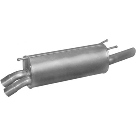 Глушитель Опель Омега Б (Opel Omega B) 2.2i -16V 99-03 kombi (17.324) Polmostrow алюминизированный