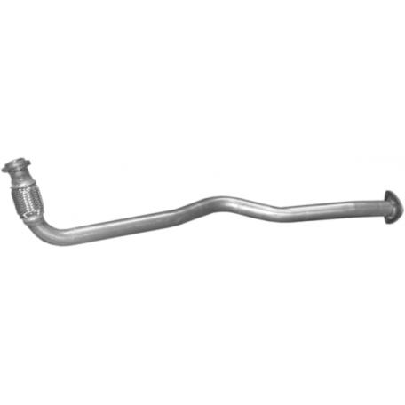 Приемная труба (штаны) Опель Астра Ф (Opel Astra F) / Опель Вектра А (Opel Vectra A) 1.7TD (17.429) Polmostrow алюминизированный