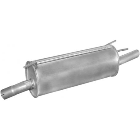 Глушитель Опель Омега Б (Opel Omega B) 2.0i X20SE 8V kombi kat 94- (17.53) Polmostrow алюминизированный