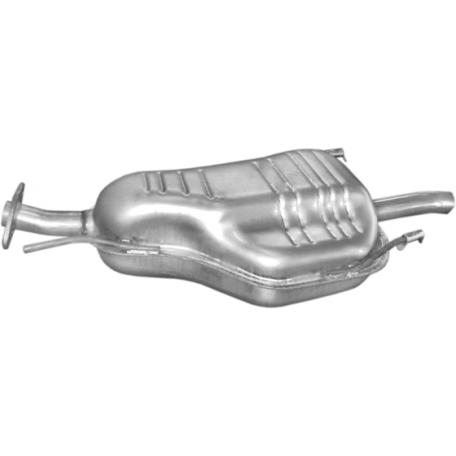 Глушитель Опель Астра (Opel Astra) 1.6 8V 98-00 (17.537) Polmostrow алюминизированный