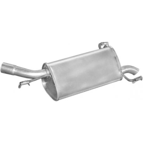 Глушитель Опель Корса С (Opel Corsa С) 1,2i-16V 09/00- (17.543) Polmostrow алюминизированный