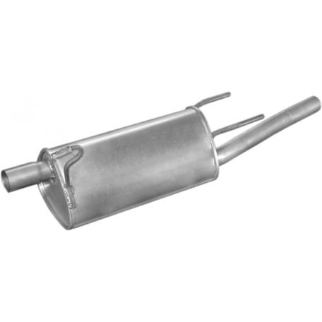 Глушитель Опель Корса С (Opel Corsa С) 1.7Di; 1.7DTi Combo Turbo Disel 01- (17.584) Polmostrow алюминизированный