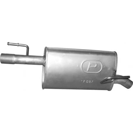 Глушитель задний Опель Мерива (Opel Meriva) A 07/04-05/10 (17.587) - Polmostrow