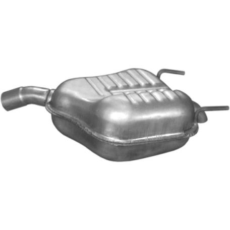 Глушитель Опель Вектра С (Opel Vectra C) 1.9 CDTi 2.0 DTi 2.2 DTi 04/02 (17.616) Polmostrow алюминизированный