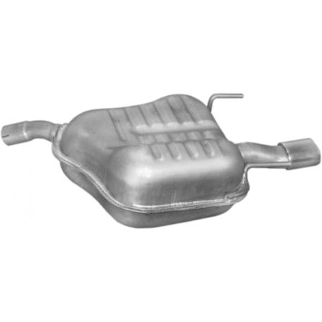 Глушитель Опель Вектра С (Opel Vectra C)1.6i -16V; 1.8i -16V 04/02 (17.619) Polmostrow алюминизированный