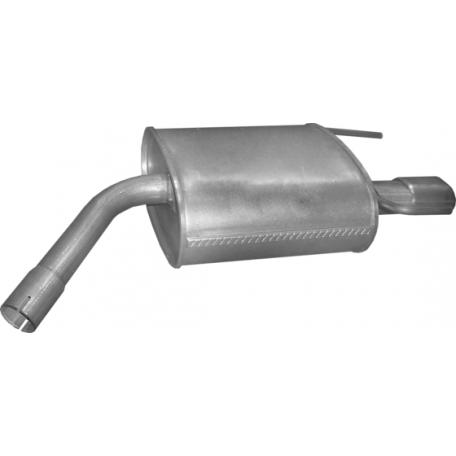 Глушитель Опель Вектра С (Opel Vectra C) 2.2 16V 01/04 (17.628) Polmostrow алюминизированный