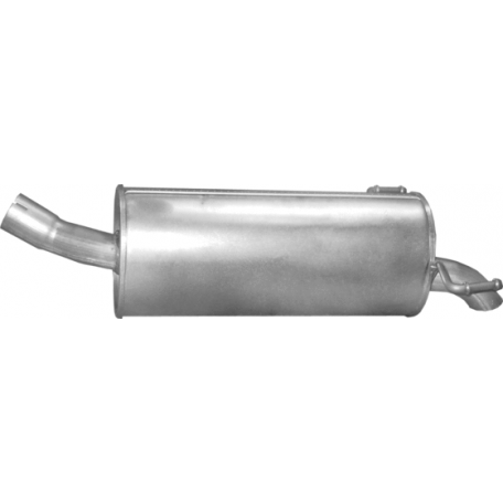 Глушитель задний (конечный) Опель Зафира (Opel Zafira) B 1.9 CDTi TD 07/05 (17.638) - Polmostrow