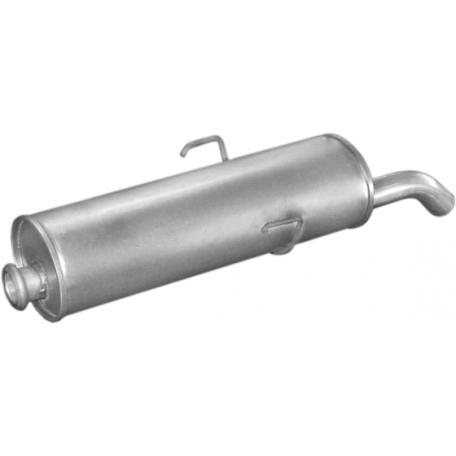Глушитель Пежо 205 (Peugeot 205) 1.1-1.6 kat 86-97 (19.01) Polmostrow алюминизированный